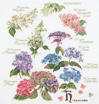 Thea Gouverneur GOK3067 Floral Sprigs