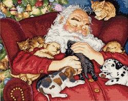 Dimensions 08836 Santa's Nap