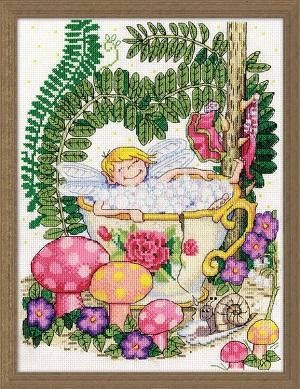 Design Works 3236 Teacup fairy