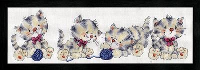 Design Works 3255 Kitten row