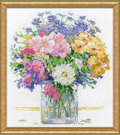 Design Works 3265 Pastel Floral