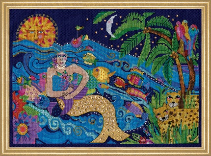 Design Works 3382 Mermaid