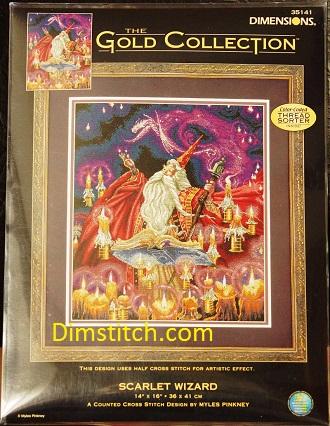 Dimensions 35141 Scarlet Wizard