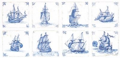 Thea Gouverneur GOK482 Delft blue