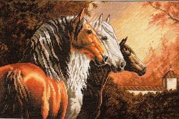 Dimensions 35091 Equine trio
