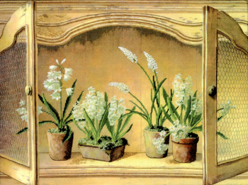 Candamar &1057;&1061; 51432 French Cupboard - Hyacinths