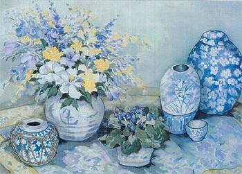 Candamar 51551 Blue Delphinium