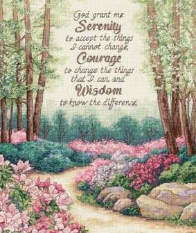 Dimensions 35162 Serenity, courage, wisdom