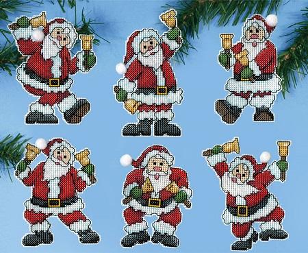 Design Works 5918 Santa with bells