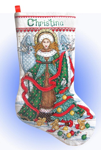 Design Works 5957 Christmas angel