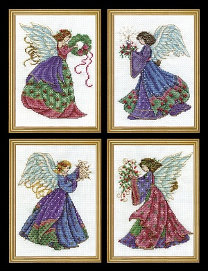 Design Works 5985 Christmas Angels