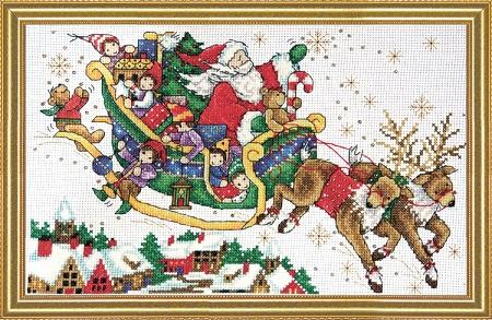 Design Works 5991 Santa's Sleigh