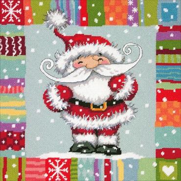 Dimensions  09157 Santa Pattern