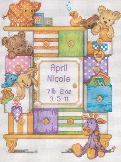 Dimensions 73538 Baby Drawers Birth Record