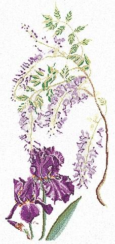 Thea Gouverneur GOK825 Floral