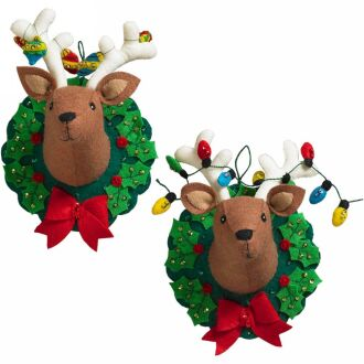 Bucilla 86744 Jingle and Belle ornaments