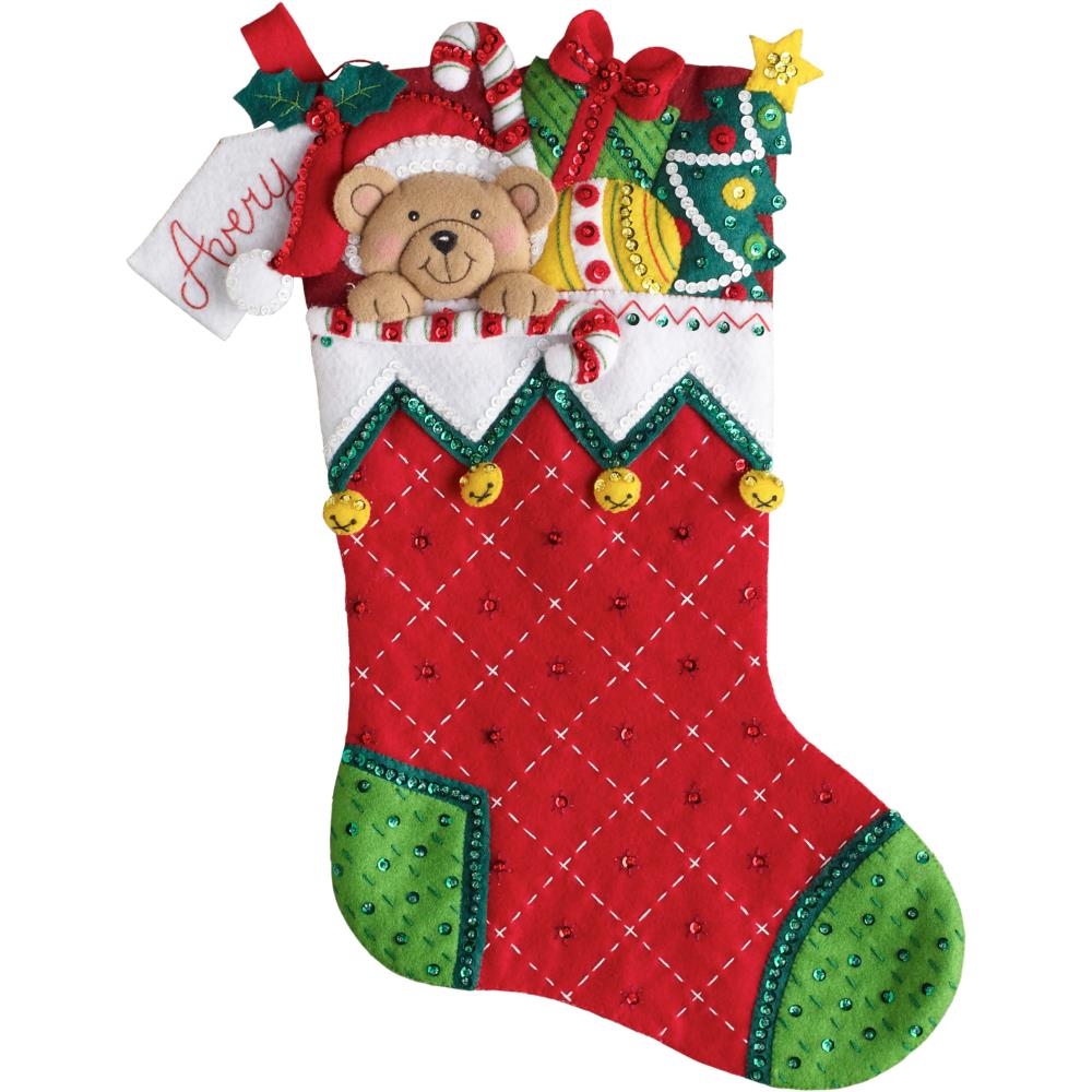 Bucilla 86815 Holiday Teddy