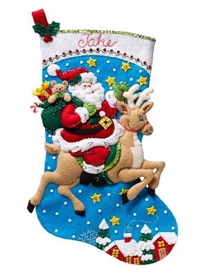Bucilla 86816 Reindeer Santa
