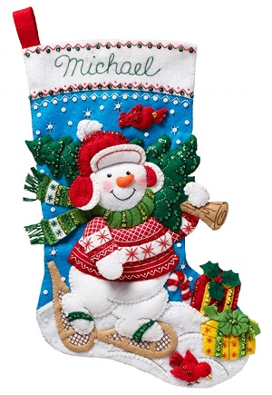 Bucilla 86817 Nordic Snowman