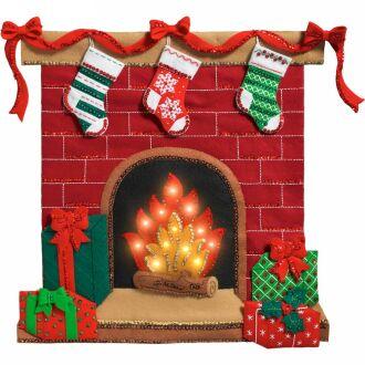 Bucilla 86821 fireside glow panno