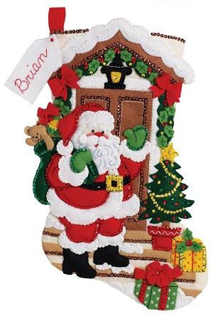 Bucilla 86893 Santa's Here
