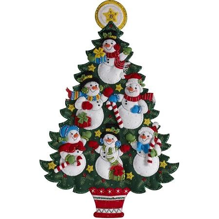 Bucilla 86913 Snowman Tree