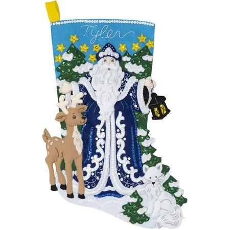 Bucilla 86935 Winter Santa