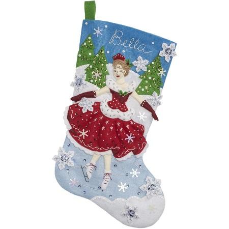 Bucilla 86979 A Christmas Skate