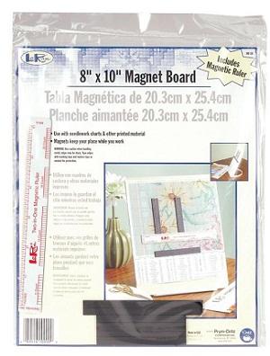 Metal board with ruler