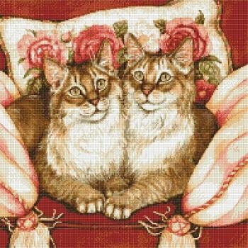 Kustom Krafts 9009 Feline Sisters
