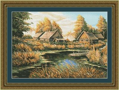 Kustom Krafts 9705 Rural river landscape