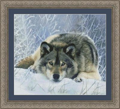 Kustom Krafts 9706 Lying in wait wolf