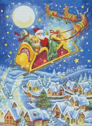 Kustom Krafts 9725 Christmas Santa & his Sleigh