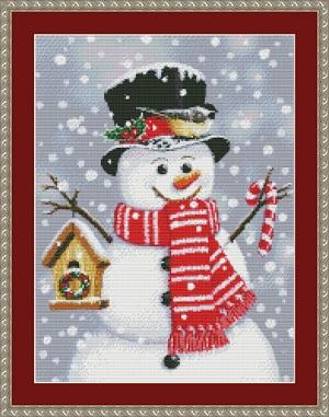 Kustom Krafts 9726 Birdhouse Snowman