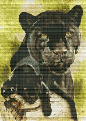 Kustom Krafts 9733 Spirit of the black leopard