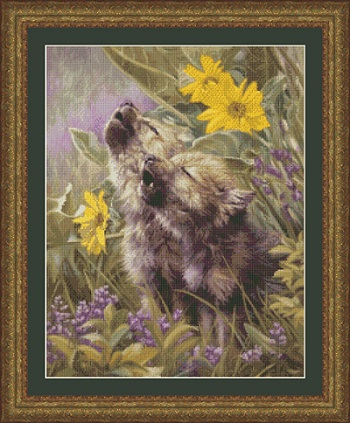 Kustom Krafts 9737 Howling Wolf Pups