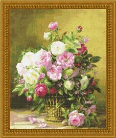 Kustom Krafts 9740 Rose basket