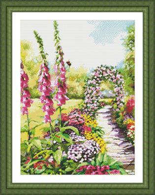 Kustom Krafts 9741 Foxglove garden