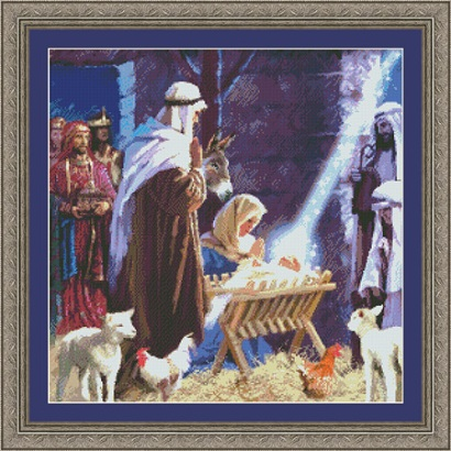 Kustom Krafts 9762 Nativity