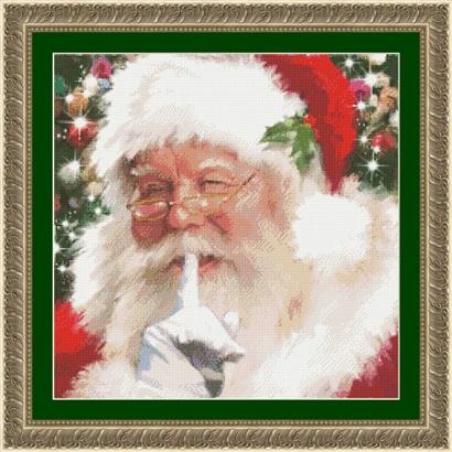 Kustom Krafts 9764 Santa Shhh..