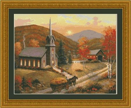 Kustom Krafts 9777 Autumn in Vermont