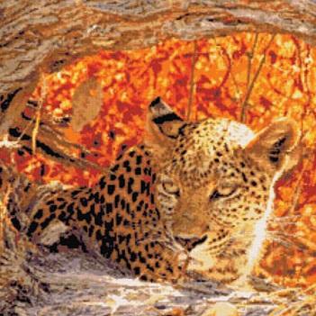 Kustom Krafts 9843 Hiding Leopard