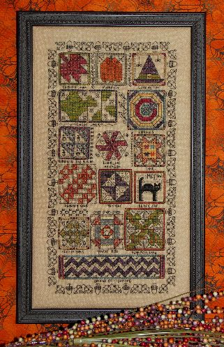 Rosewood Manor Halloween quilt sampler