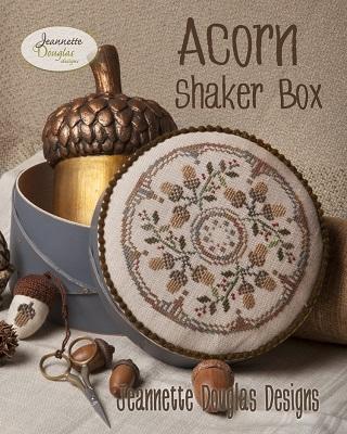 Jeannette Douglas Designs Acorn Shaker Box