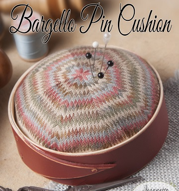 Jeannette Douglas Designs Bargello pincushion