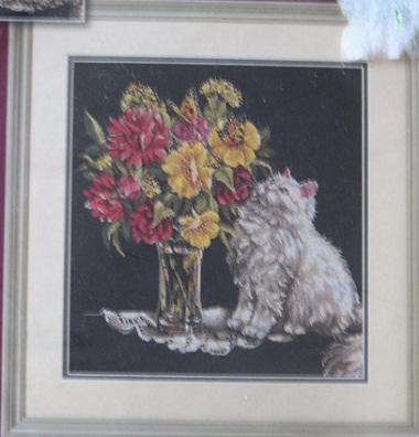 Dimensions 79100 Bouquet and cat