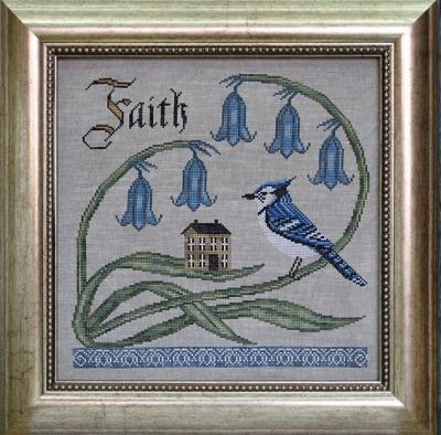 Cottage Garden Samplings Have Faith