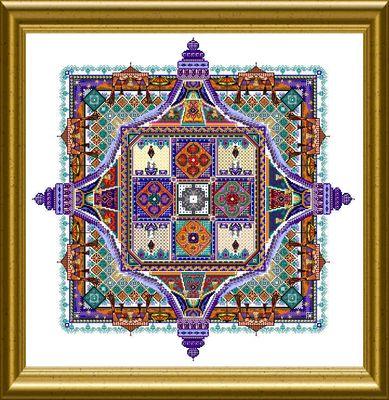 Chatelaine CHAT120 Night Desert Tent Mandala