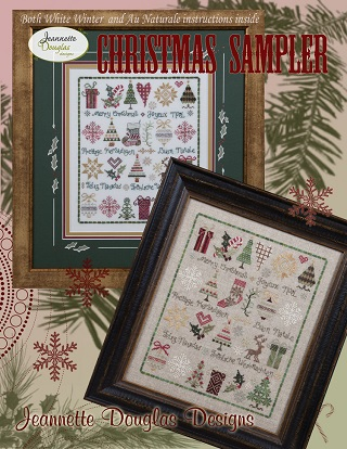 Jeannette Douglas Designs Christmas Sampler