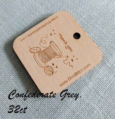 Confederate Grey 32ct